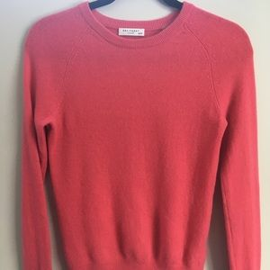 Equipment 100% Cashmere Pink Sweater Size XS